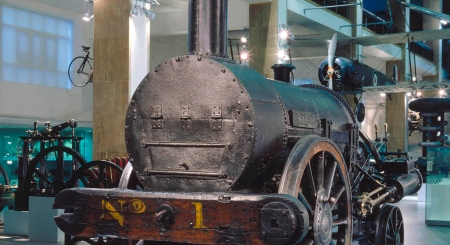 Stephenson's Rocket, one of the pioneering steam locomotives, has significant ties to the North East.
