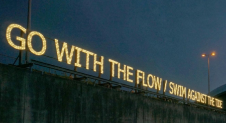 Go With The Flow / Swim Against The Tide