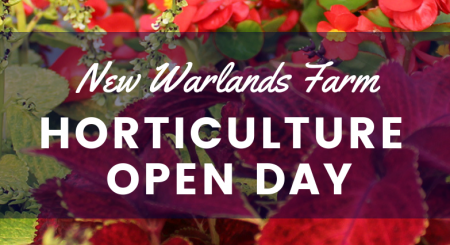 Horticulture Open Day logo