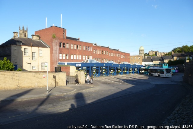 Durham Bus Station Friends Action North East
