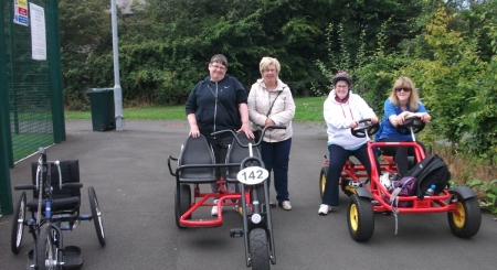 Adapted Bikes Sessions