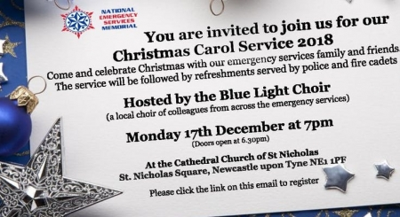 Blue Light Choir Christmas Carol information