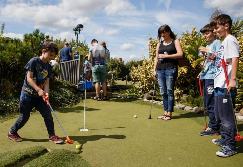 """""""Lost World Adventure Golf"""" is one of many activities you can do at Tynemouth Park."""