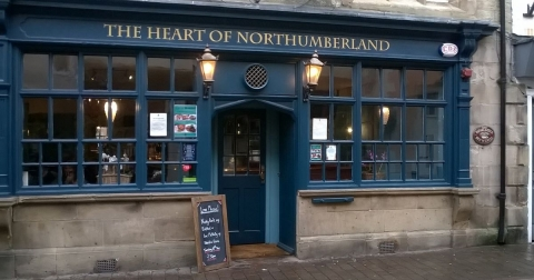 Picture of the front of the Heart of Northumberland