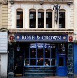 The Rose and Crown Exterior.