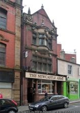 Outside The Newcastle Arms.