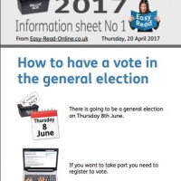 Inclusion North General Election Advert.